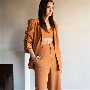 Danielle Bernstein Pinstripe Blazer NWT